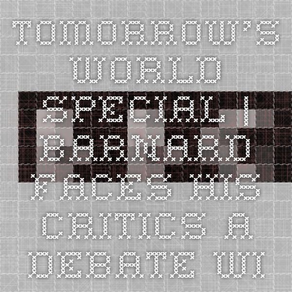 FIRST BROADCAST   02 February 1968 Tomorrow's World Special   Barnard Faces His Critics A debate with Christiaan Barnard, the pioneering heart transplant surgeon.