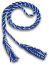 AAMN National Member Graduation Cord/Tassle. Recognition of individual achievement and participation is an integral part of every student's graduation. The AAMN now offers Blue/Silver entwined graduation cords at low cost to our AAMN nursing students who are national members to proudly display their affiliation/membership with the national AAMN organization.