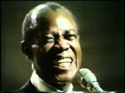 What a wonderful world - LOUIS ARMSTRONG. This song is hip no matter what. I love this song.