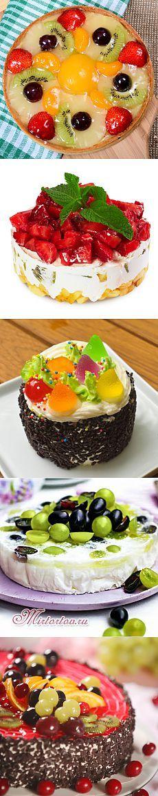 Подборка тортов-желе