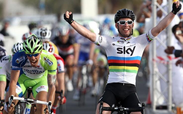 Mark wins 2nd stage Tirreno Adriatico!