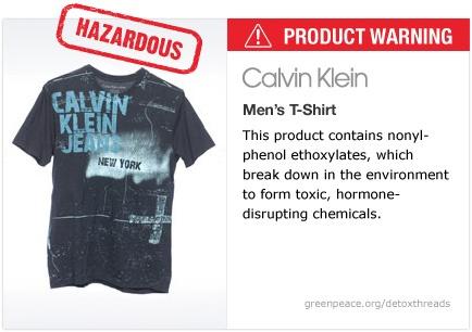 Calvin Klein t-shirt   #Detox #Fashion