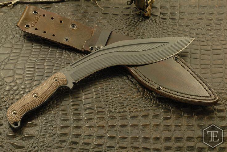RMJ Tactical Kukri Black/Earth Brown AKA Hyena Brown *Full Amount* - Tactical Elements Inc