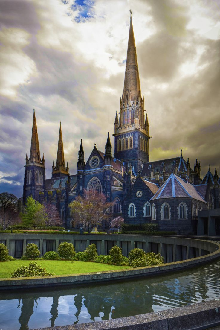 St. Patricks Cathedral ~ Melbourne, Australia...my parents were married in this cathedral...very grand...