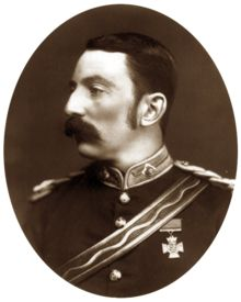 Col. John Rouse Merriott Chard, recipient of the Victoria Cross while a lieutenant for his brilliant defense of Rorke's Drift with 139 of Her Majesty's soldiers against 3,000-4,000 Zulu warriors in 1879.