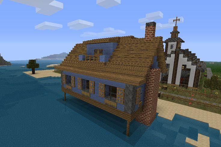 Minecraft Beach House