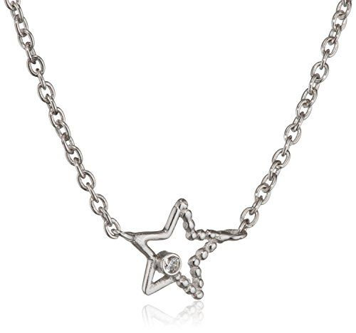 ca-love-Damen-Kette-mit-Anhnger-We-Love-Luck-Infinity-Stars-925-Sterling-Silber