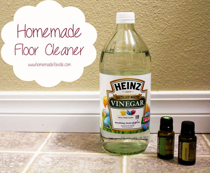 Excellent Safe DIY Floor Cleaner with vinegar and borax. I also added a couple drops of blue Dawn detergent and left out the essential oils as Dawn has its own scent. Worked great on my hard-to-clean white linoleum!