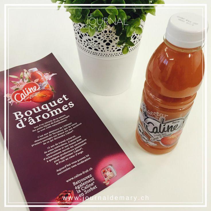Reçu aujourd'hui, le nectar de Caline Fruit au Coeur d'ange! Prometteur :-) M'en vais déguster cela et vous en parle bientôt sur le blog!  www.journaldemary.ch