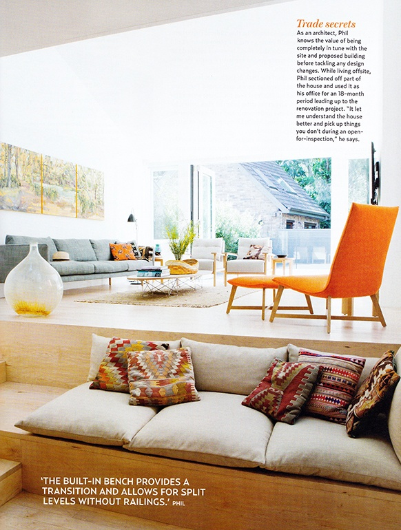 Jardan Iko Iko chair Nook sofa Bedroom seating area