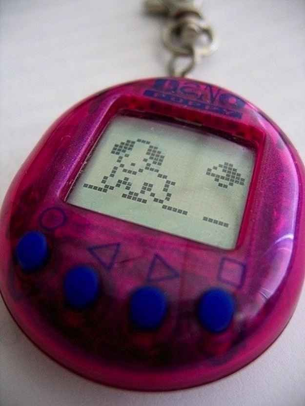 Tamagotchis & tons of other mid 80's to 90's toys that GIRLS had. I had almost all of them.....spoiled