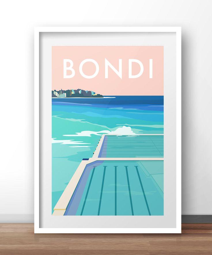 Bondi Travel Print