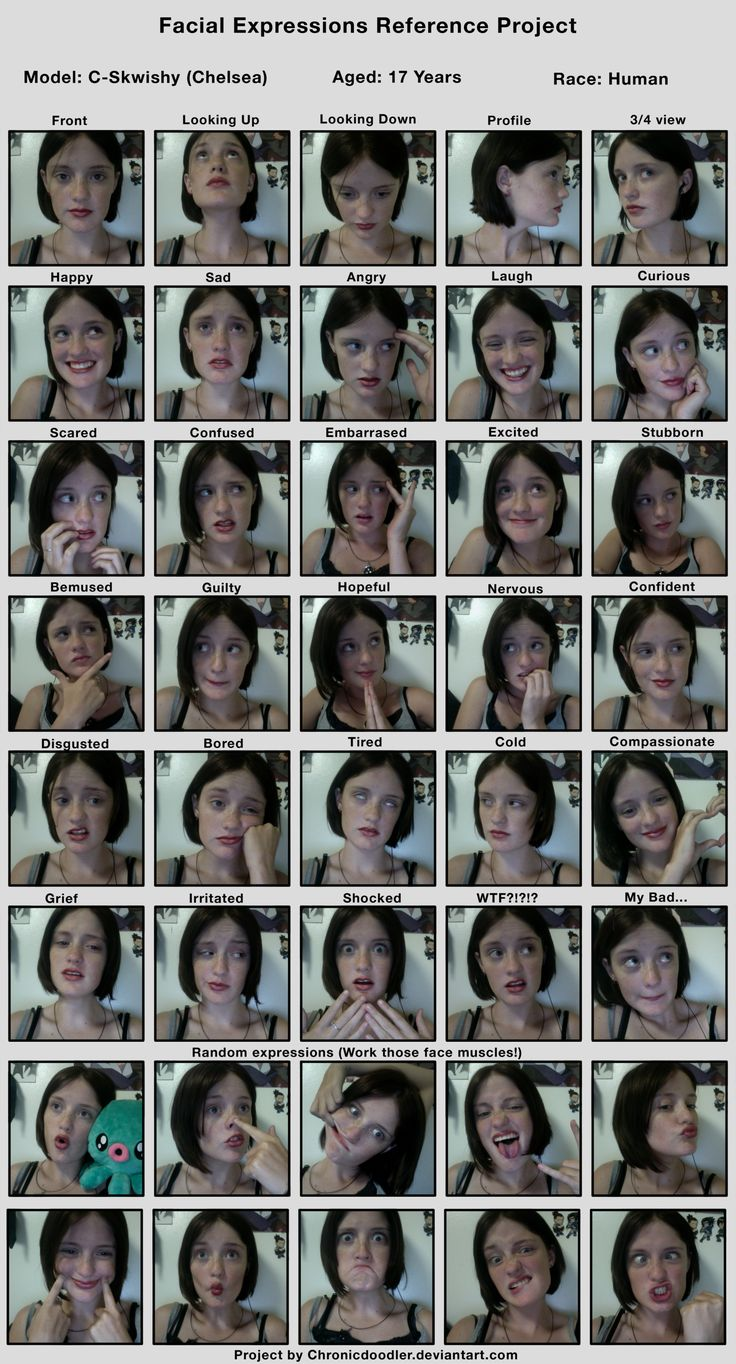 Facial expressions animators