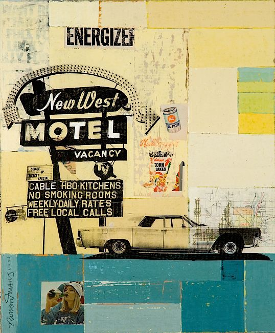chronicle of america by robert mars  http://www.robertmars.com/    #mixed_media #collage