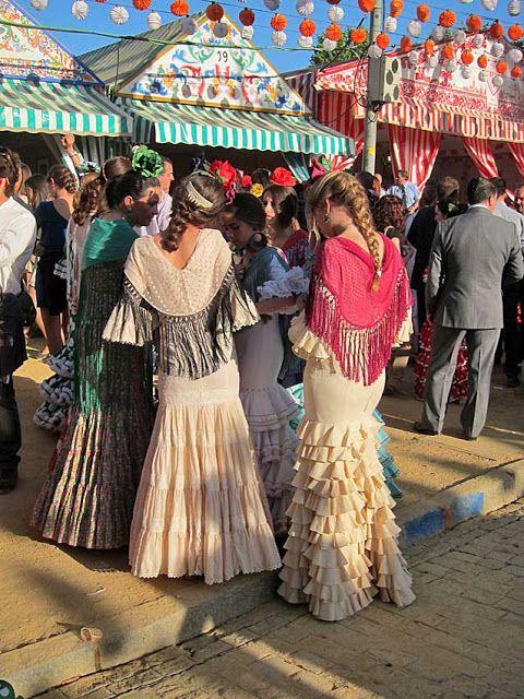 Der Políngano.com: Feria de Abril de Sevilla: Belleza, luz y color