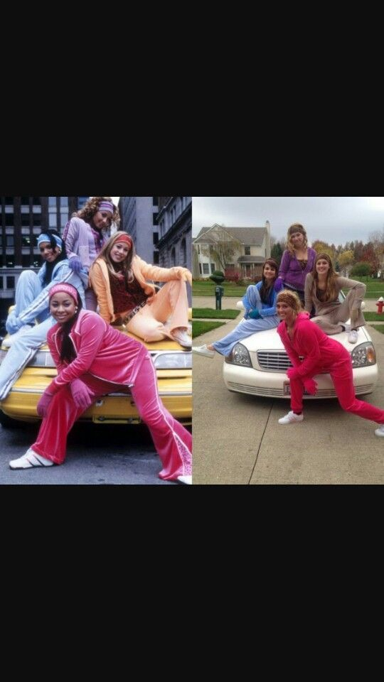 Cheetah Girls group costume