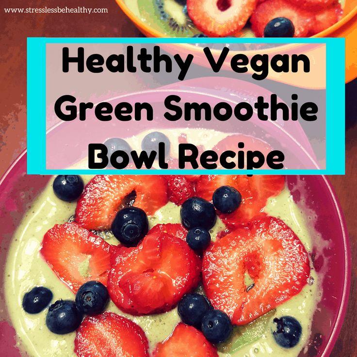 Wollten Sie schon immer lernen, wie man ein gesundes veganes Rezept für eine grüne Smoothie-Schüssel macht? Gut,…   – Smoothie/Nutribullet