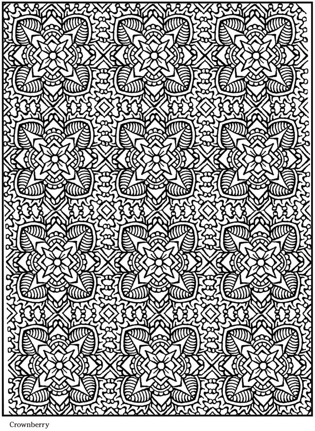 Lotus Design Coloring Page Free Printable Kids Diy Crafts