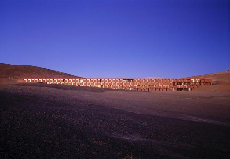 Hotel ESO (European Southern Observatory) Paranal, Auer+Weber+Assoziierte (Cerro Paranal, Atacama, Chile)