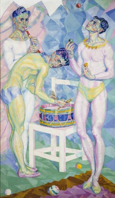 Arlequines 1928 benjam n palencia museo reina sof a - Pintores en palencia ...