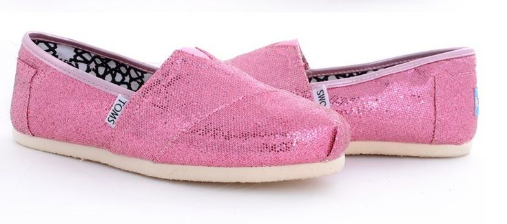 Toms Glitter Women Shoes Pink [toms 085] - $17.59 :
