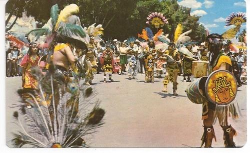 Guadalajara Mexico festive costumes