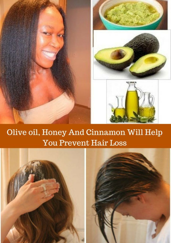 Olive oil, Honey And Cinnamon Will Help You Prevent Hair Loss