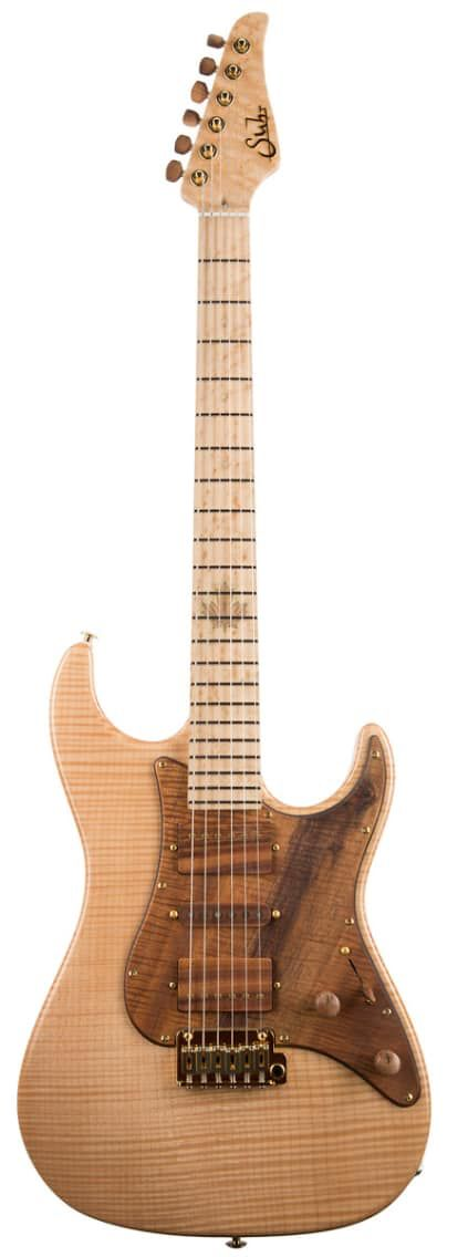 Suhr 2015 Collection Standard 2015 NaturalSuhr 2015 Collection Standard Flame Maple - Natural (217)