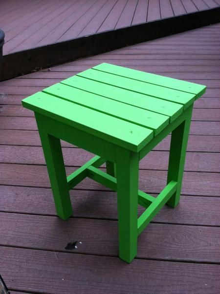 Adirondack end table build it yourself and spruce it up for Adirondack side table plans