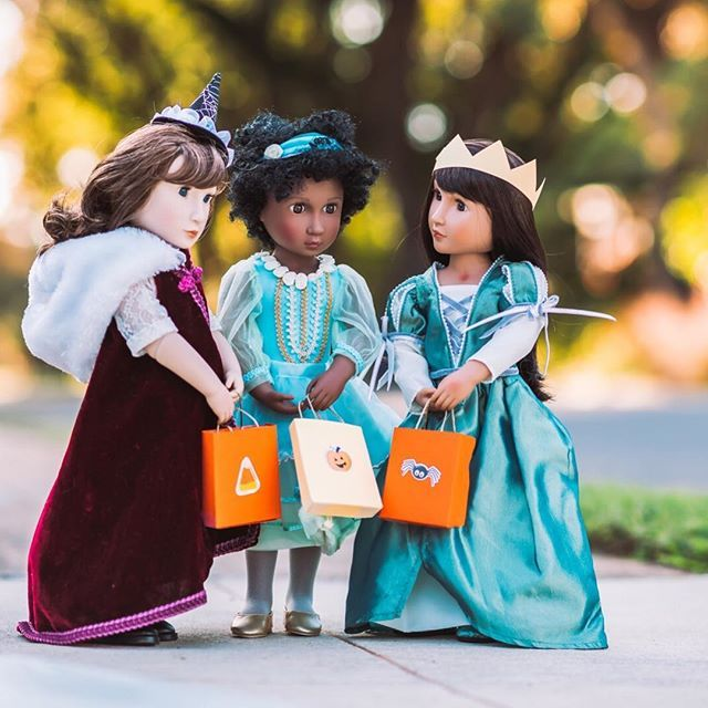 Trick Or Treat? Did You Know You Can Design Your Own Doll