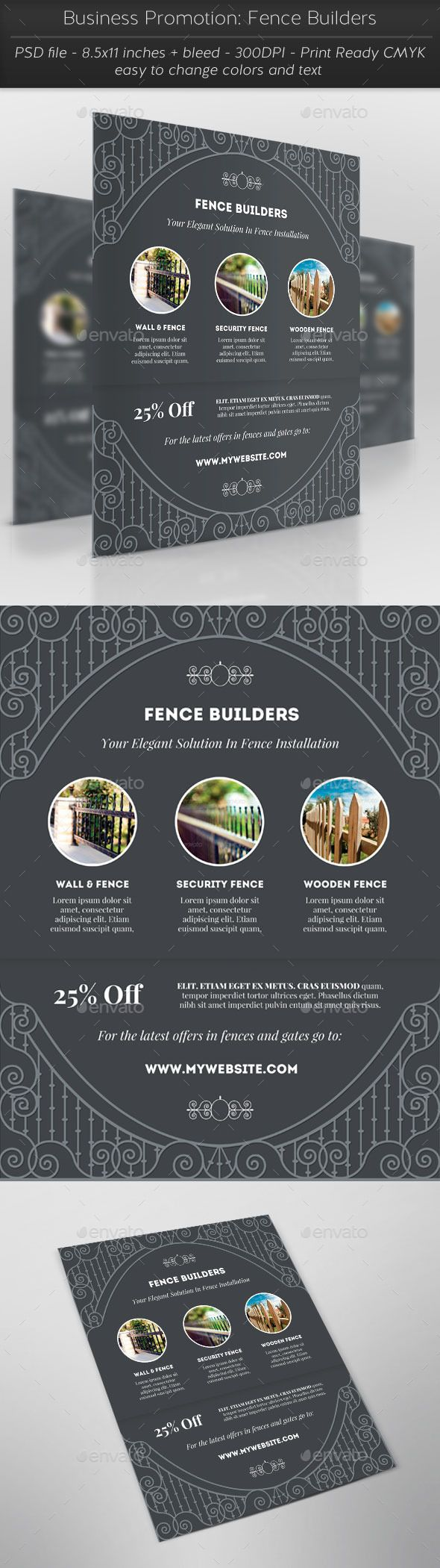 Business Promotion: Fence Builders