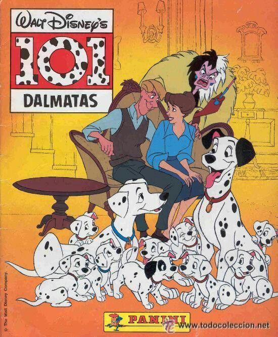 Álbum de 101 Dálmatas.