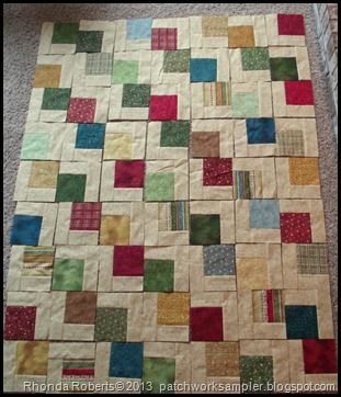 Falling Charms quilt pattern - link to video tutorial