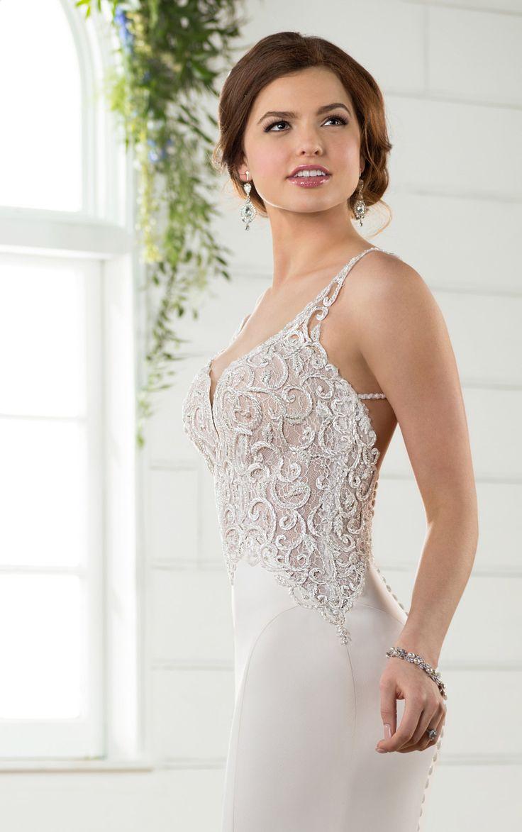 14 besten Sexy Wedding Dresses Bilder auf Pinterest   Brautkleider ...