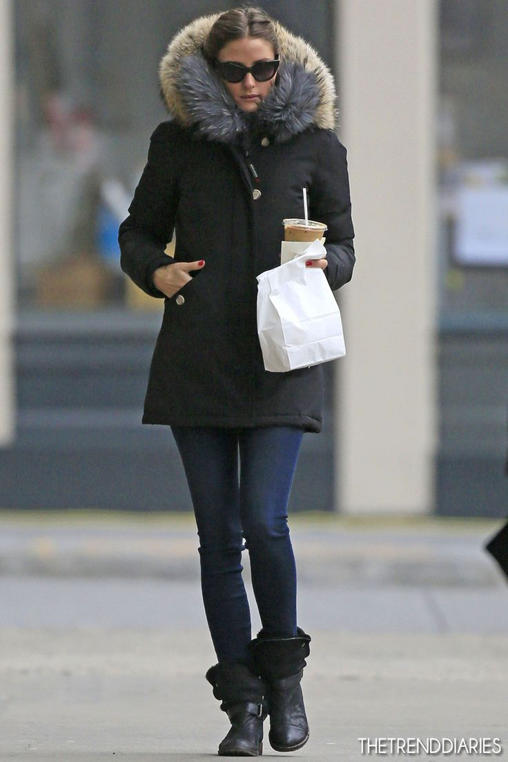 Olivia Palermo out in New York City, New York - February 1, 2013
