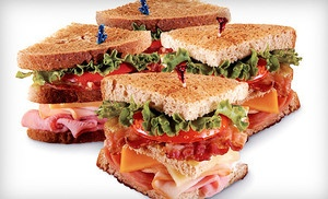 Groupon - $6 for $12 Worth of Sandwiches, Spuds, and Salads at McAlister's Deli in On Location. Groupon deal price: $6.0.00