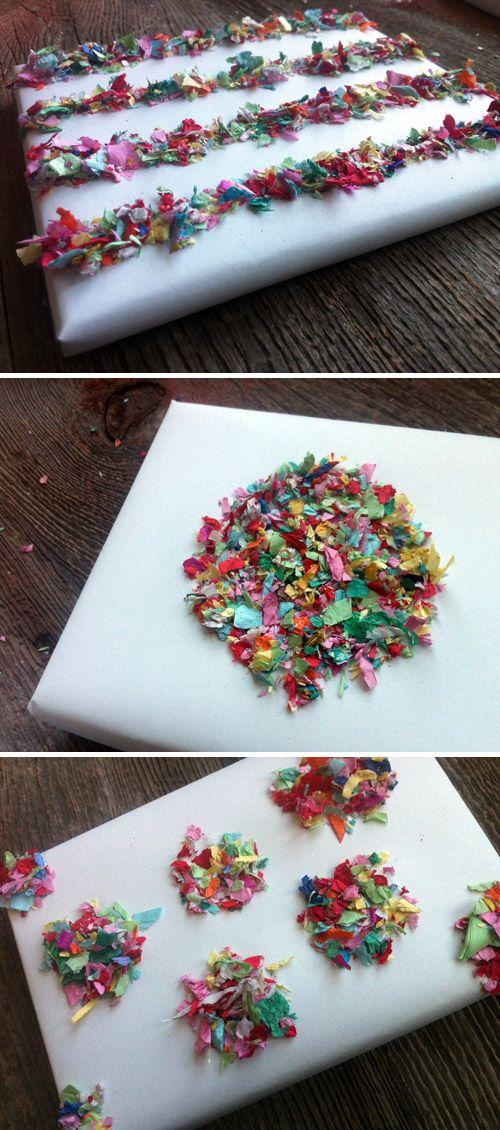 Confetti wrap!