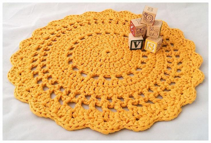 Crochet mat, Ribbon XL.