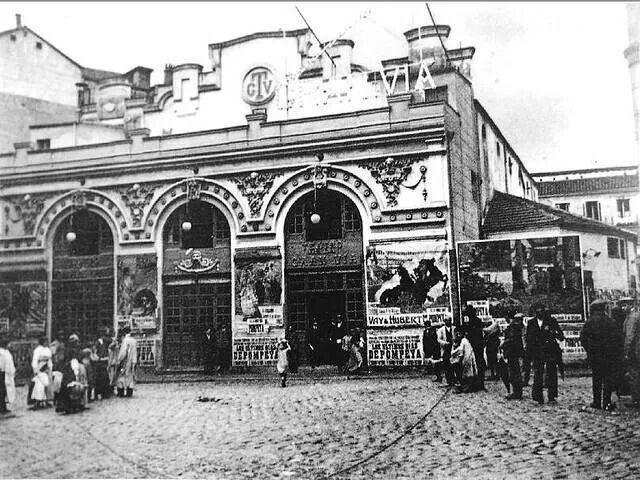 Cine-teatro Gran via 1916