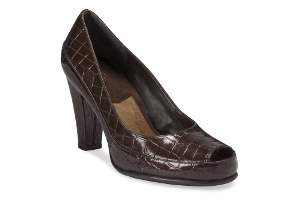 A2 by Aerosoles Women's Shoes - Big Ben in Brown Croco