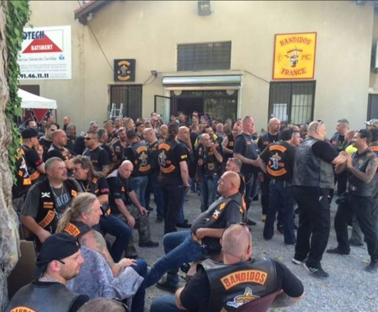 Honda Of Hattiesburg >> Bandidos, Marseille, France | MC - Bikers | Pinterest ...