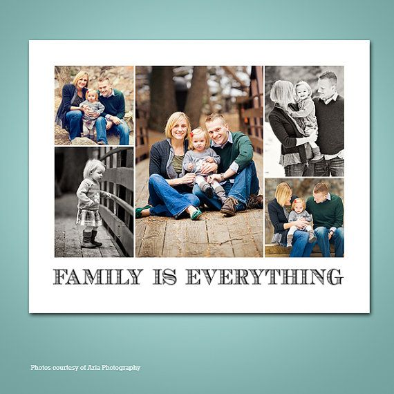 Printable Art for Home Decor Customized Family by ShoeBoxSnapShots, $15.00