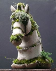 Die Besten 17 Bilder Zu Garden Art Auf Pinterest | Gärten ... Lebendige Skulpturen Im Garten Atlanta