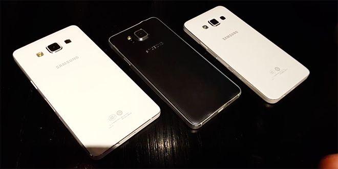 Samsung Galaxy Alpha A3 y A5 aparecen en vídeo - http://www.esmandau.com/164506/samsung-galaxy-alpha-a3-y-a5-aparecen-en-video/