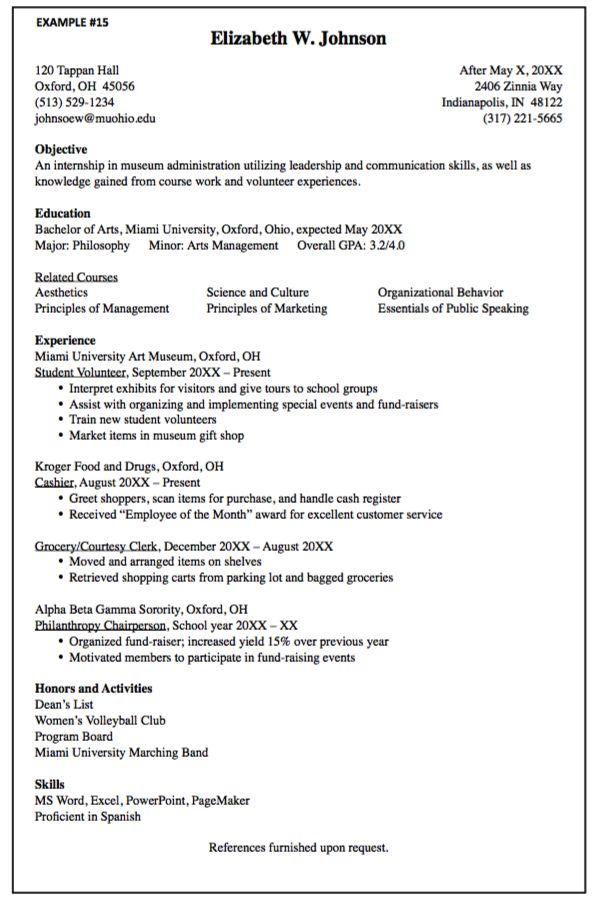 63 best resumes images on pinterest
