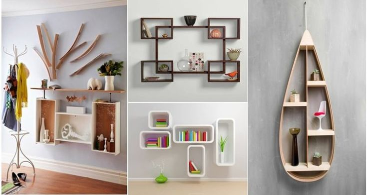 Ράφια τοίχου: Σχεδιαστικές ιδέες που θα σας εμπνεύσουν!