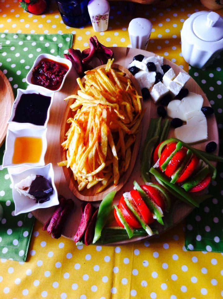 Zeyneb'in mutfak deneyimleri- bambu sunum