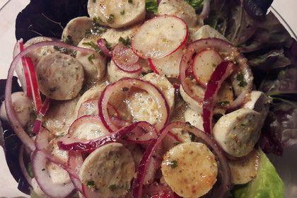 Muttis Weißwurstsalat
