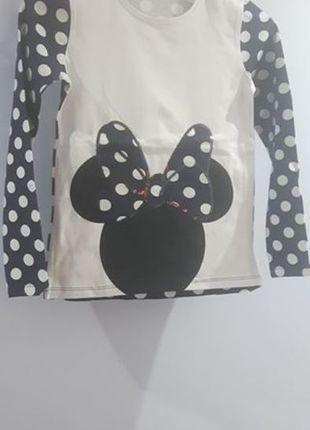 Kup mój przedmiot na #vintedpl http://www.vinted.pl/odziez-dziecieca/koszulki-topy-i-bluzki/16868187-bluzeczka-z-myszka-minnie-w-groszki-nowa