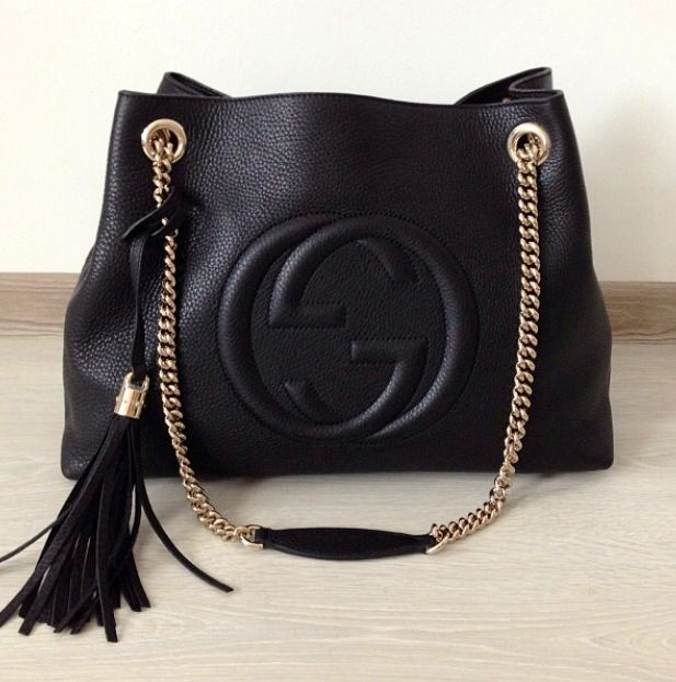 d7cd25ac Pin by Grace Kamish on style | Gucci soho bag, Bags, Gucci handbags